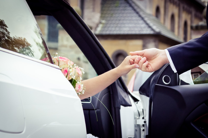 chauffeur wedding car hire in Ascot